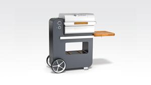 Vorschaubild PELLETGRILL BOB Grillson - Produktdesign von burmeister industrial design
